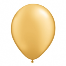 "Qualatex 9 inch Balloons - Gold 9"" Balloons (Metallic 100pcs)"